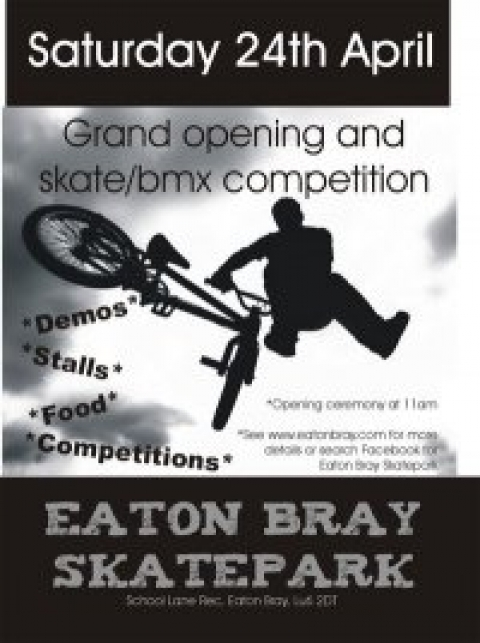 EATON BRAY OPENING JAM 24th OF APRIL