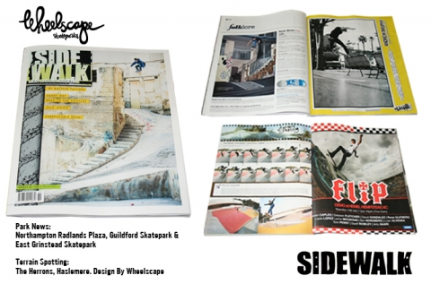 Wheelscape parks in the latest issue of Sidewalk